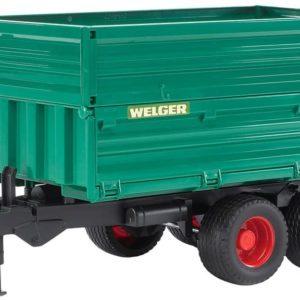 BRUDER - 02010 - Remorque double niveau - Verte